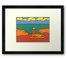 PRIVATE WORLD Framed Print