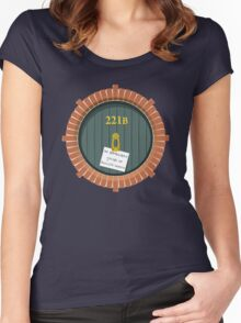 221B Bag End New Version Women's Fitted Scoop T-Shirt