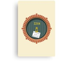 221B Bag End New Version Canvas Print