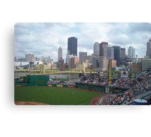Baseball game at PNC Park Canvas Print