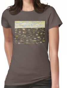 IRISH COTTAGES Womens Fitted T-Shirt