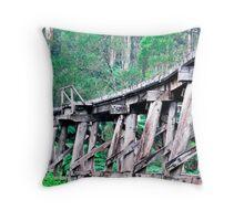 Tressle Bridge Throw Pillow