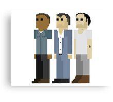 GTA V - 8-Bit Protagonists Trio Character Design Canvas Print