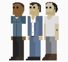 GTA V - 8-Bit Protagonists Trio Character Design T-Shirt