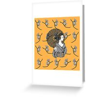 Vecta Geisha Greeting Card