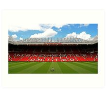 Old Trafford Art Print