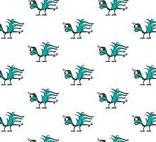 Fantasy Bird Illustration by DFLC Prints