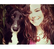 Me and My Pup Photographic Print