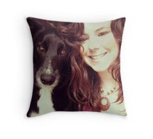Me and My Pup Throw Pillow