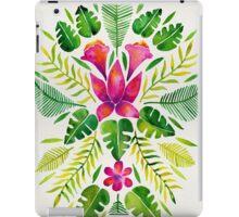 Tropical Symmetry – Pink & Green iPad Case/Skin