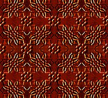 Ornament chocolate candy pattern  by DFLC Prints