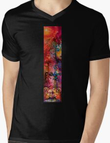 EXCALIBUR / Magic and Mystery Mens V-Neck T-Shirt