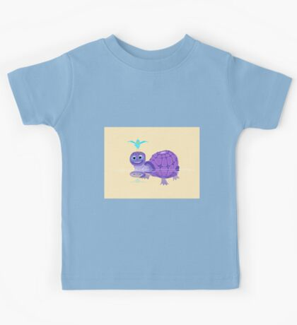 The Purple Turtle And A Bluebird Of Glee Kids Tee