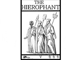 The Heirophant by Peter Simpson