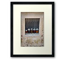 Hungry Anyone? Framed Print