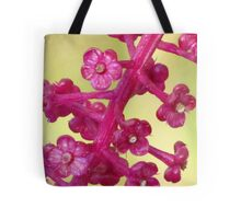 Poke Flower Tote Bag