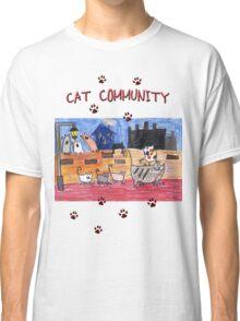 Cat community Classic T-Shirt
