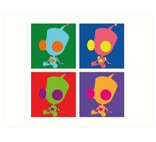 Andy Warhol style - Gir Art Print
