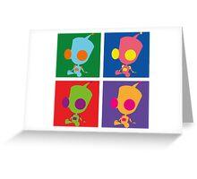 Andy Warhol style - Gir Greeting Card