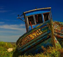 Carrasqueira Boat Portugal by Christopher Cosgrove