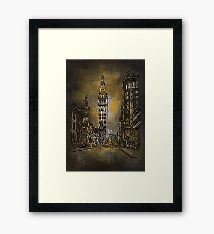 1910y Madison Avenue NY. Framed Print