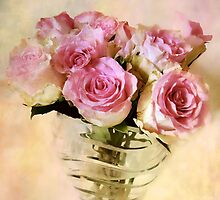 Watercolor Roses by Jessica Jenney