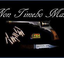 Non Timebo Mala - I Will Fear No Evil! New Supernatural design! by luvchildofelvis