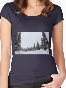 The Season of White Women's Fitted Scoop T-Shirt
