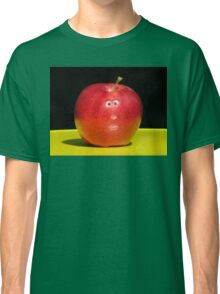 RED APPLE FACE Classic T-Shirt