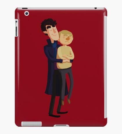 Put me down, Sherlock iPad Case/Skin
