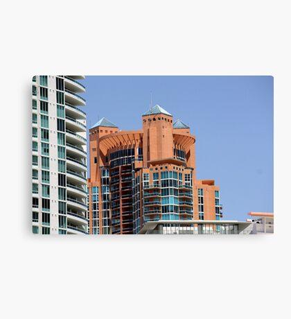 Portofino Towers Canvas Print