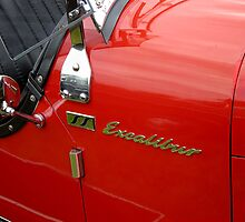 SS Excalibur Classic Car by buttonpresser