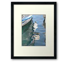 Water Reflection 2 - JUSTART © Framed Print