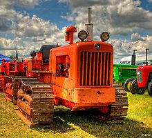 Tracked Tractors by David J Knight