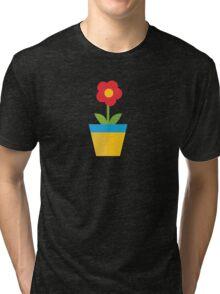 Plant pot Tri-blend T-Shirt