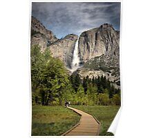 Through Yosemite Meadows Poster