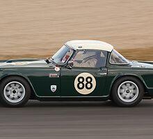 Triumph TR4 by Willie Jackson