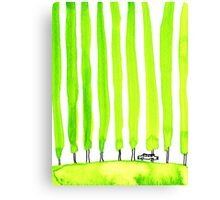 Enthusiastic cypress Canvas Print