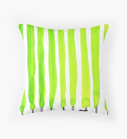 Enthusiastic cypress Throw Pillow