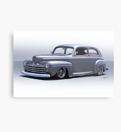 1947 Ford 'Rod and Custom' Sedan 1 Metal Print