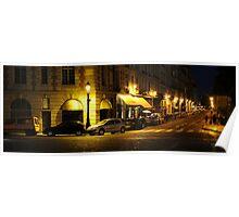 la rue à Paris Poster
