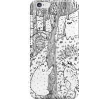 Diurnal Animals of the Forest iPhone Case/Skin