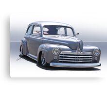 1947 Ford 'Rod and Custom' Sedan 2 Canvas Print