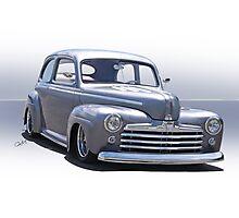 1947 Ford 'Rod and Custom' Sedan 2 Photographic Print