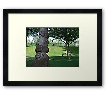 Peace in the Park Framed Print