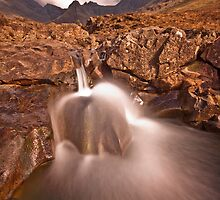 Waterfall at the fairy pools  by Shaun Whiteman