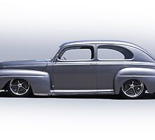 1947 Ford 'Rod and Custom' Sedan 4 by DaveKoontz