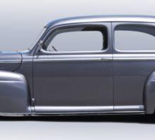 1947 Ford 'Rod and Custom' Sedan 4 Sticker