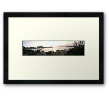 Charitas Beach in Niteroi, Brazil Framed Print