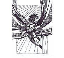 St Michael, Warrior Angel Photographic Print